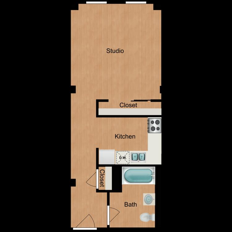 Floor plan image of Studio S11