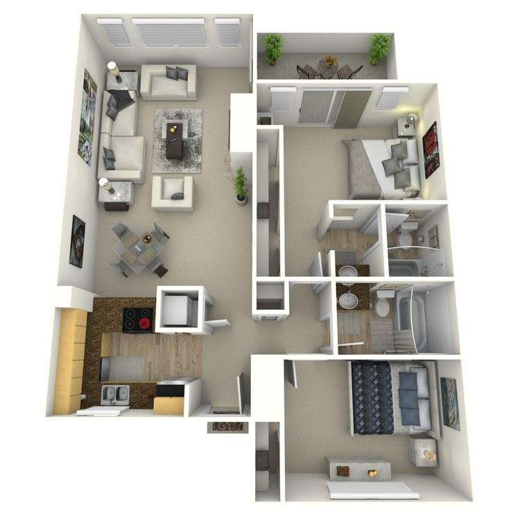 Floor plan image of Cedarwood-Contemporary