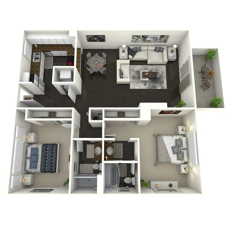 Floor plan image of Birchwood-Custom