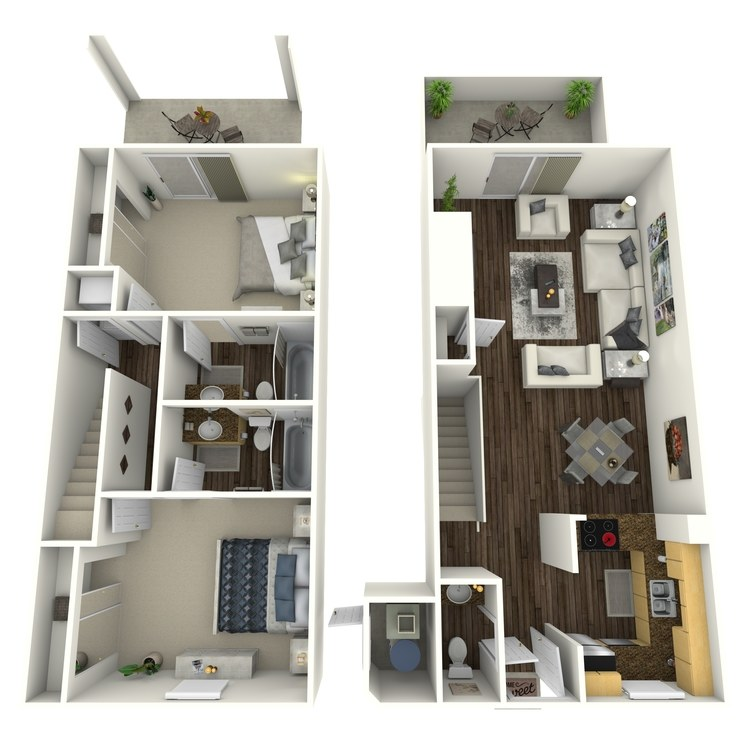 Floor plan image of Driftwood-Enhanced