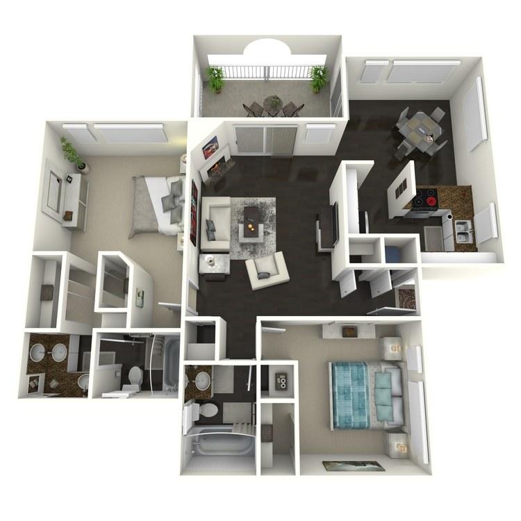 Floor plan image of Almondwood-Custom