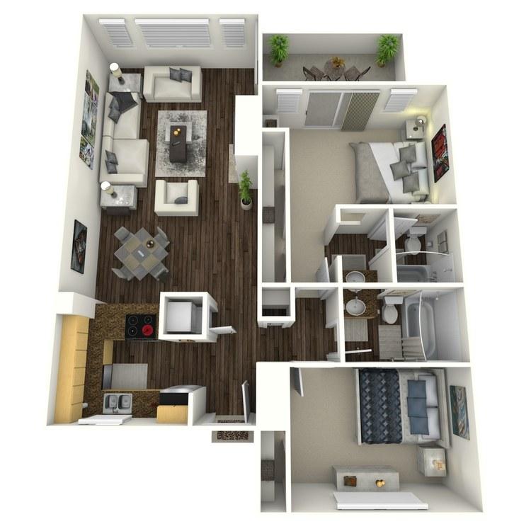 Floor plan image of Cedarwood-Enhanced
