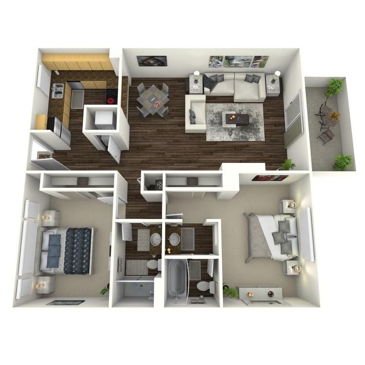 Floor plan image of Birchwood-Enhanced