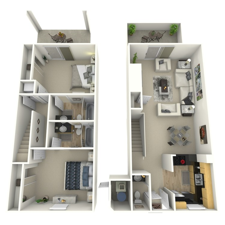 Floor plan image of Driftwood-Contemporary