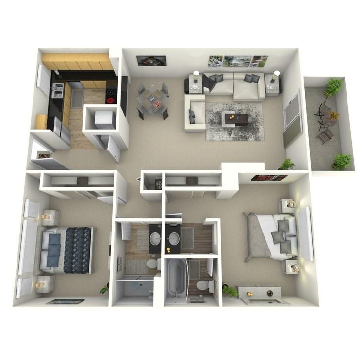 Floor plan image of Birchwood-Contemporary