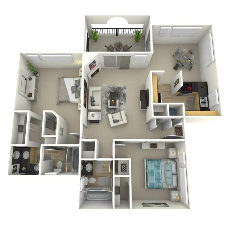 Floor plan image of Almondwood-Contemporary