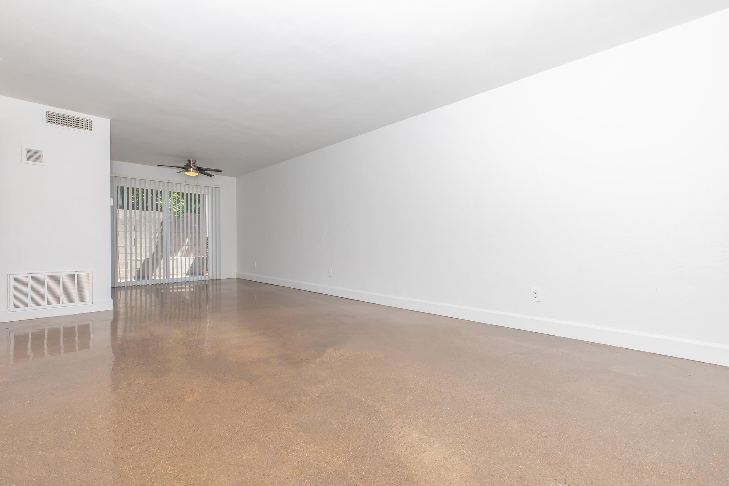 a person standing in a room