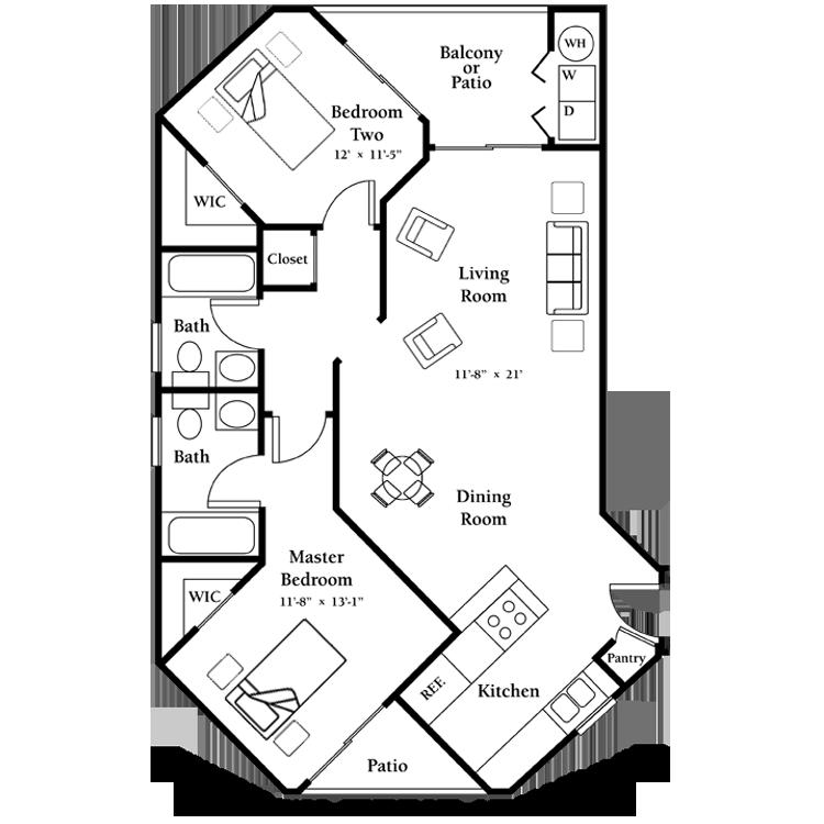 Floor plan image of The Jasmine - First Floor