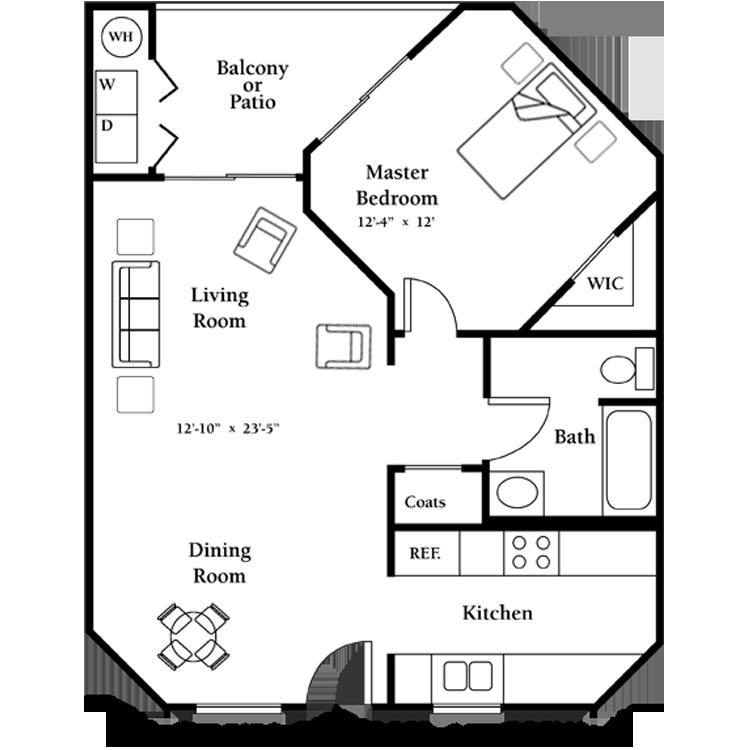 Floor plan image of The Lantana - First Floor