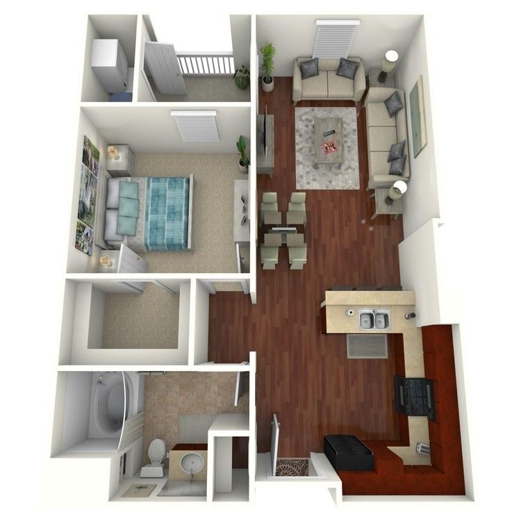 Luxe floor plan image