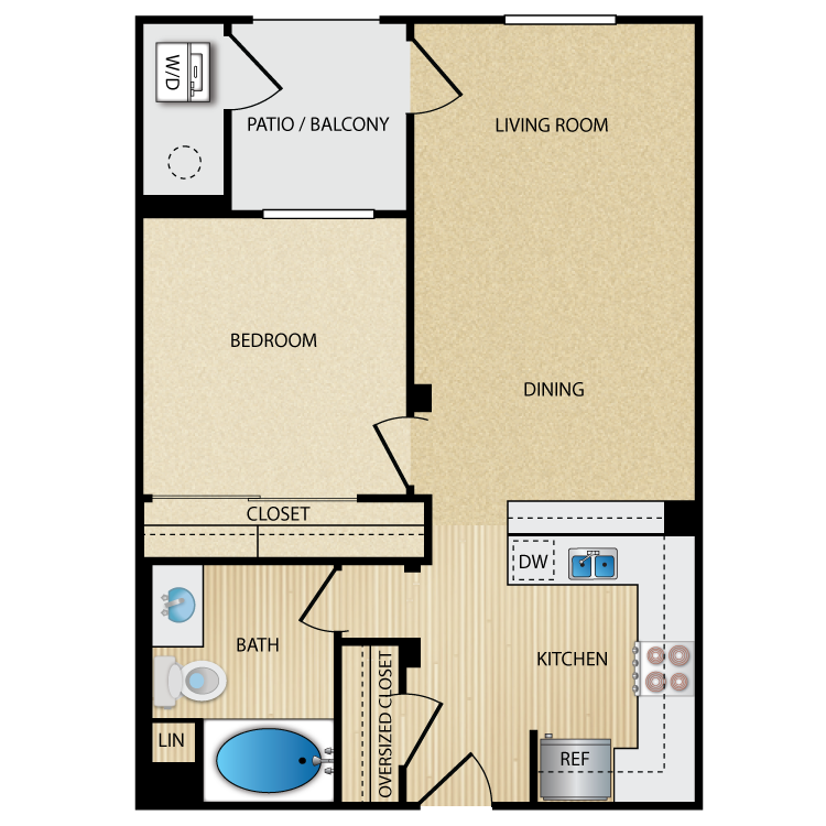Posh floor plan image