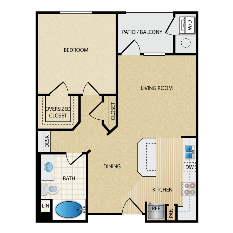 Chic floor plan image