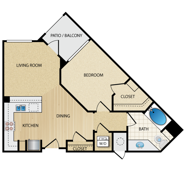 Urban floor plan image