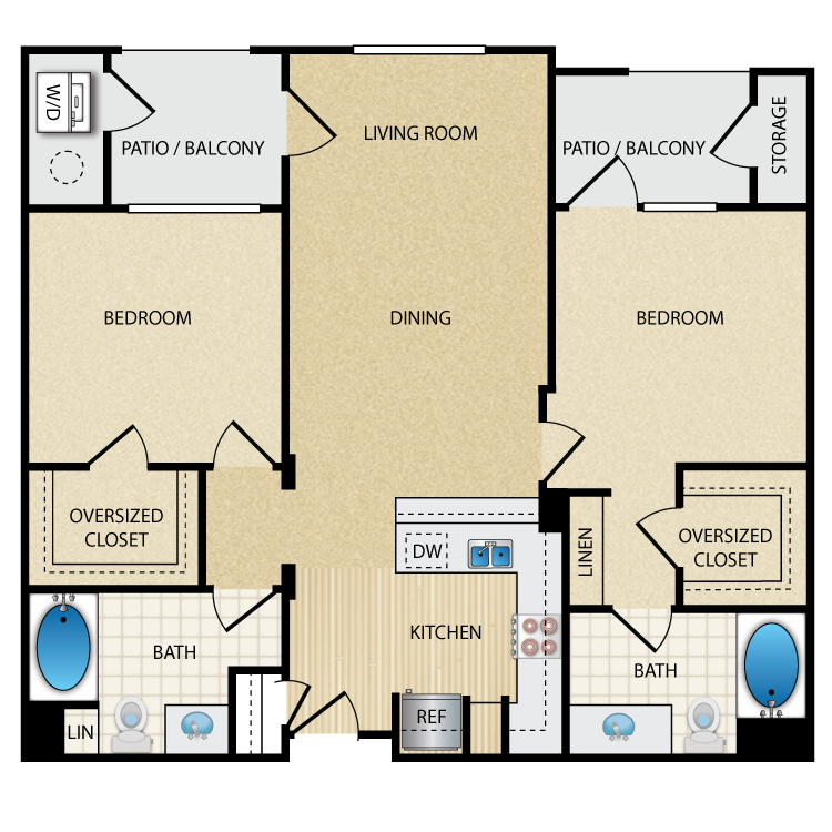 Metro floor plan image