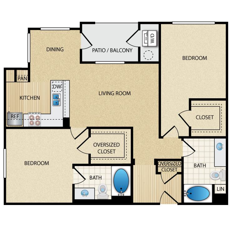 Trend floor plan image