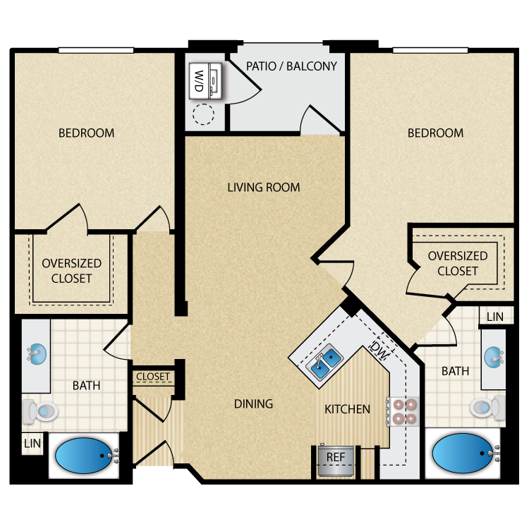 Cosmo floor plan image