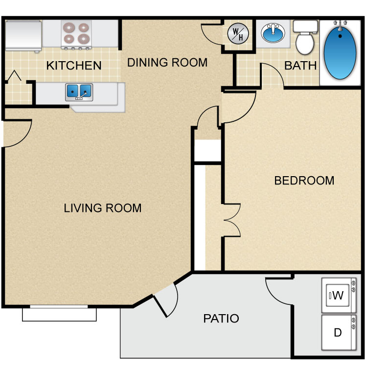 Floor plan image of La Villa