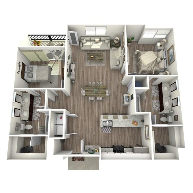 Floor plan image of B1.1