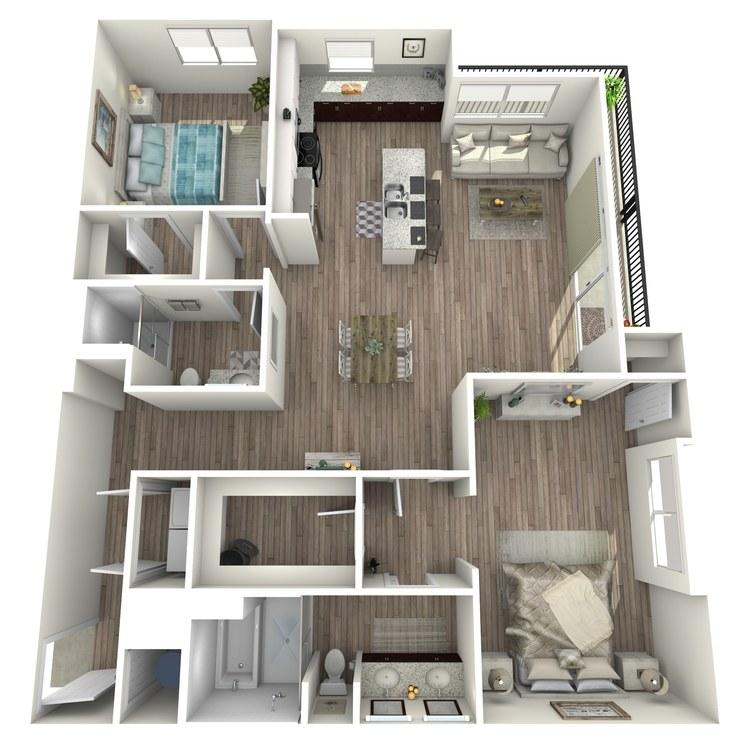 Floor plan image of B3.1