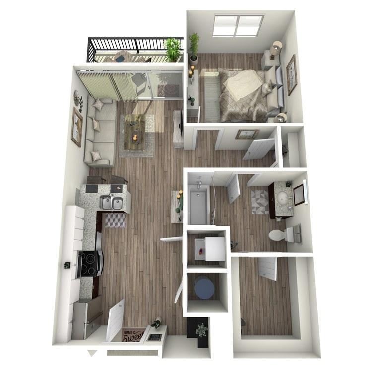 Floor plan image of A1.1