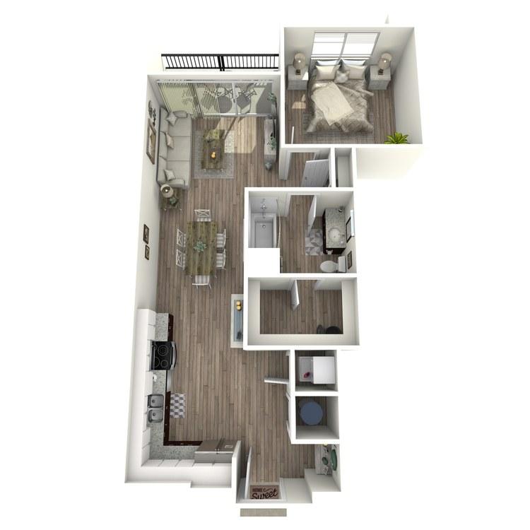 Floor plan image of A1.2