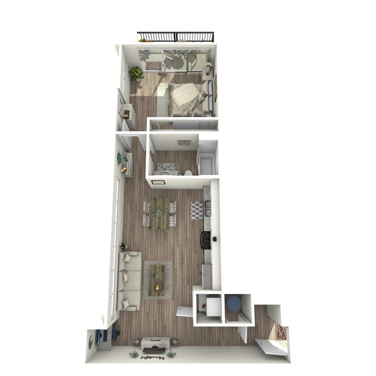 Floor plan image of A1.3