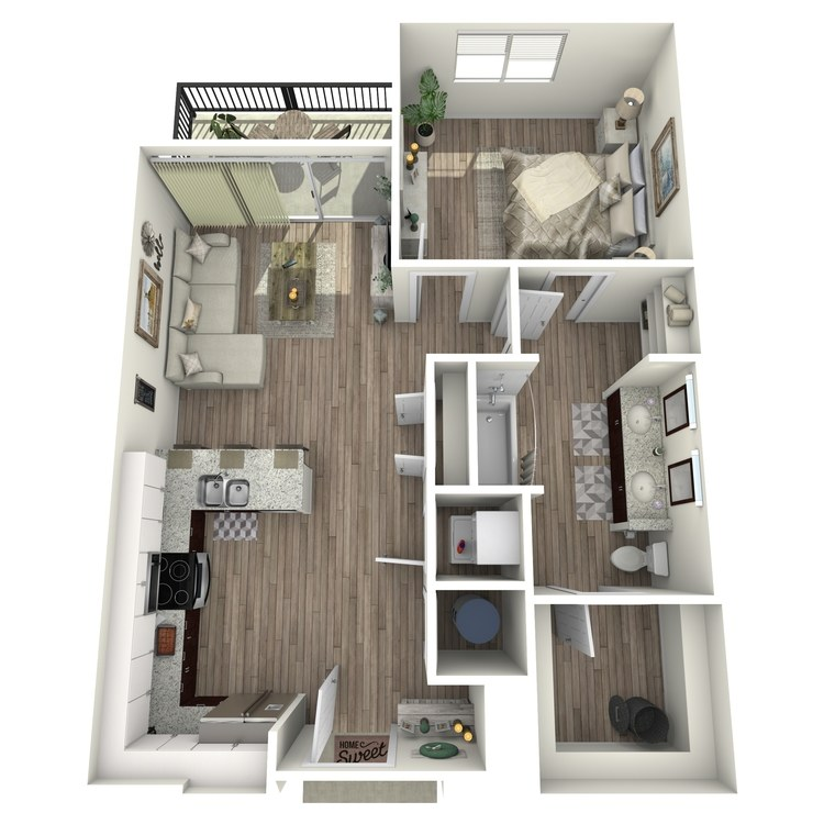 Floor plan image of A2.1