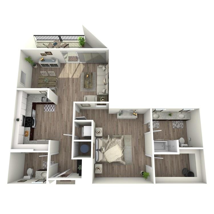 Floor plan image of A4.2