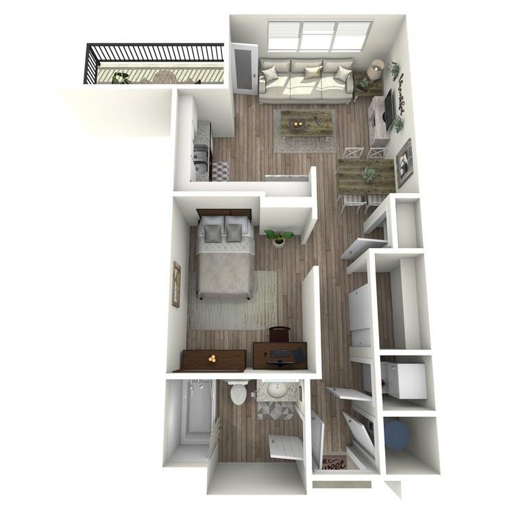 Floor plan image of S1.3