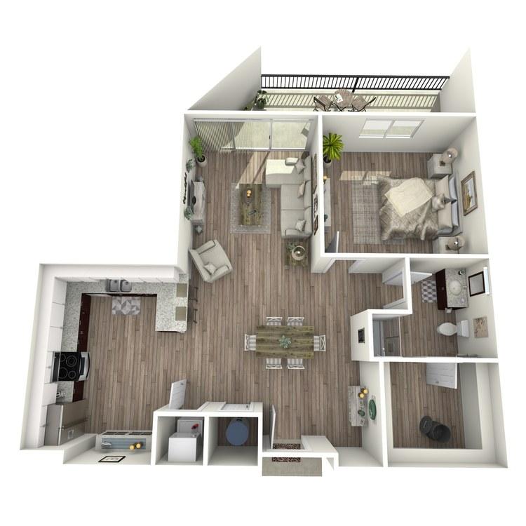 Floor plan image of A4.1