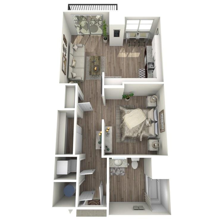 Floor plan image of S1.1