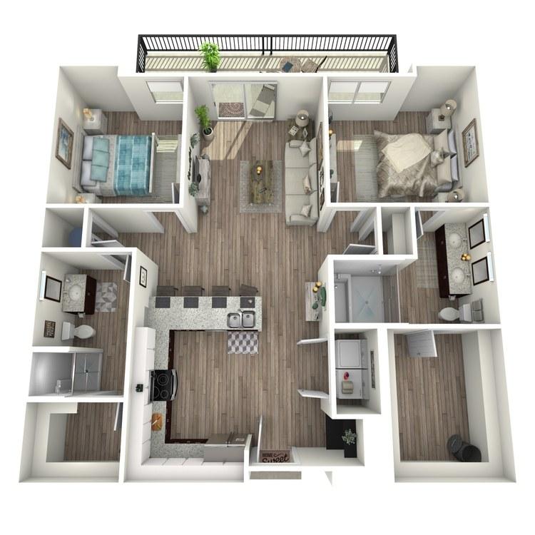 Floor plan image of B1.2