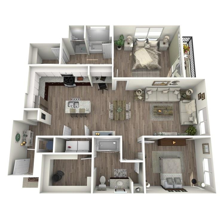 Floor plan image of B2.2