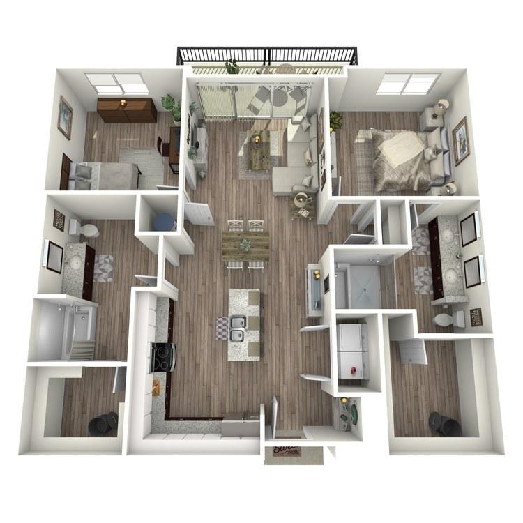 Floor plan image of B1.3