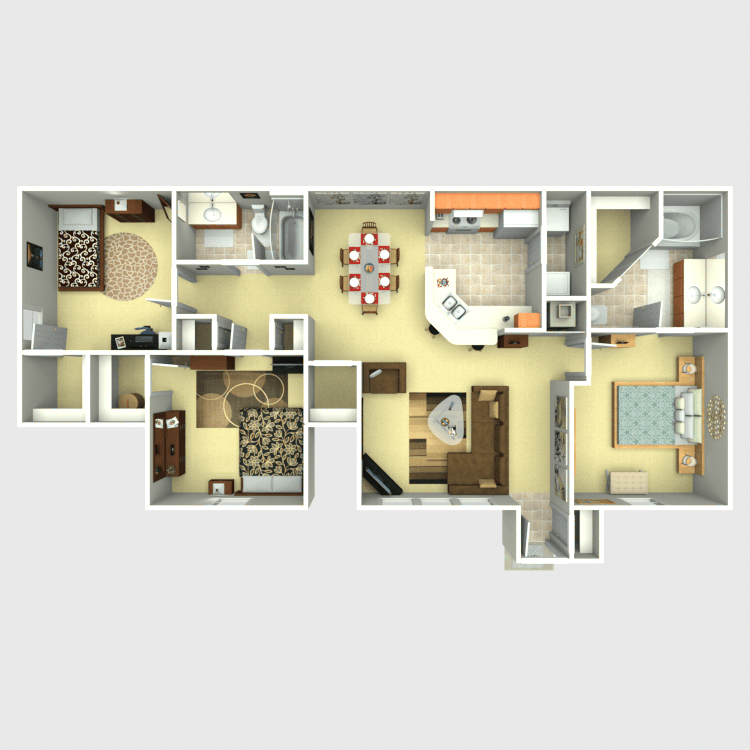 Floor plan image of Fireweed