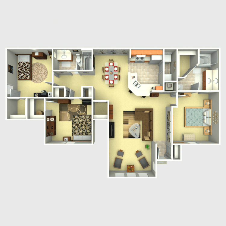 Floor plan image of Fireweed Solarium