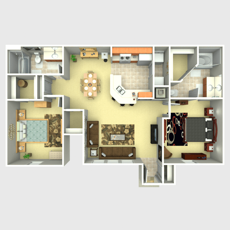 Floor plan image of Piñon