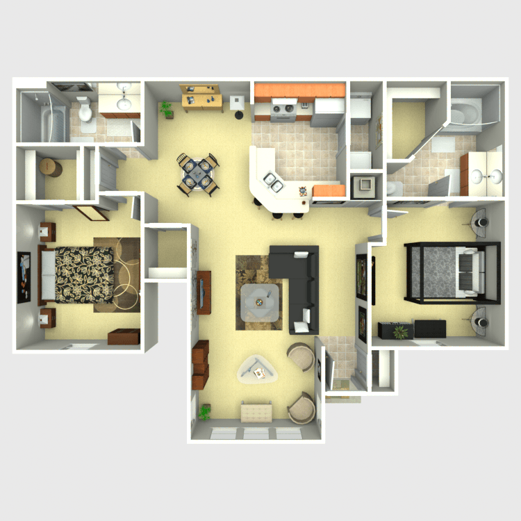 Floor plan image of Piñon Solarium