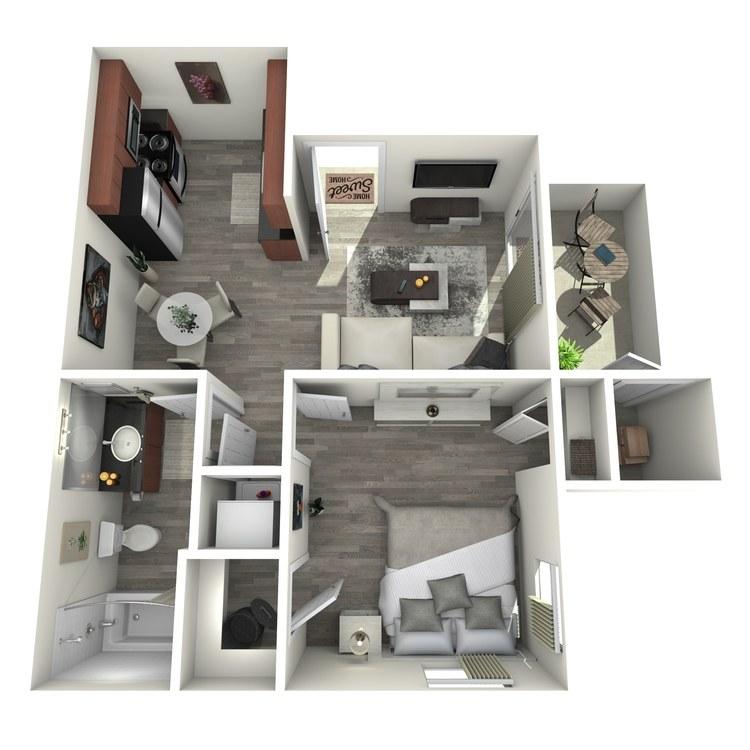 Floor plan image of Madison