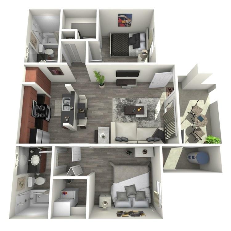 Floor plan image of Roosevelt-Casitas
