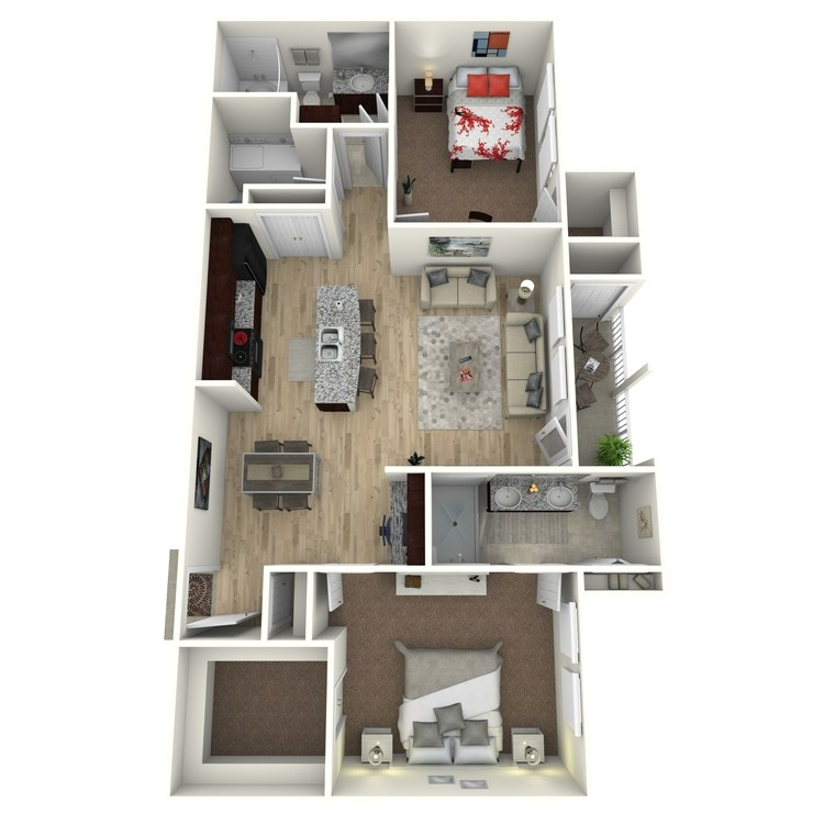 Floor plan image of B5