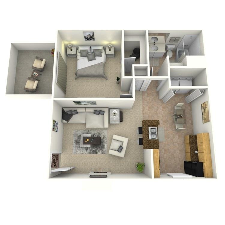 Floor plan image of Brighton R