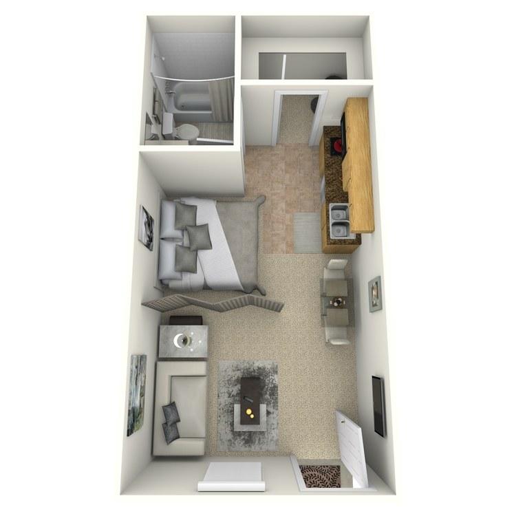 Floor plan image of Derby R