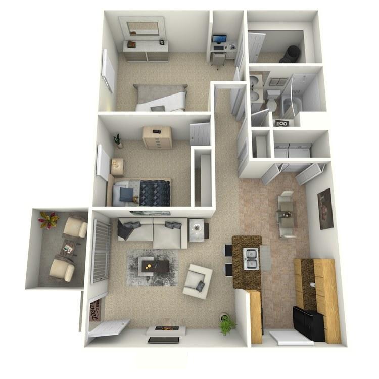 Floor plan image of Lisburne