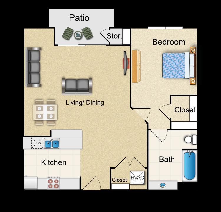 Floor plan image of F4