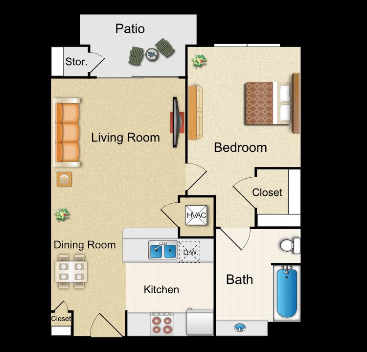 Floor plan image of G1