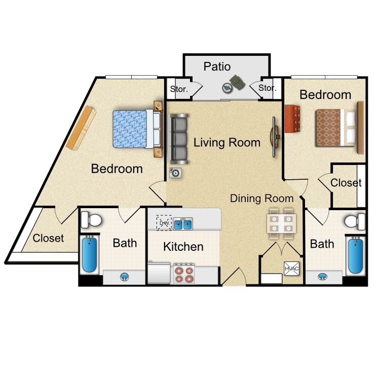 Floor plan image of O