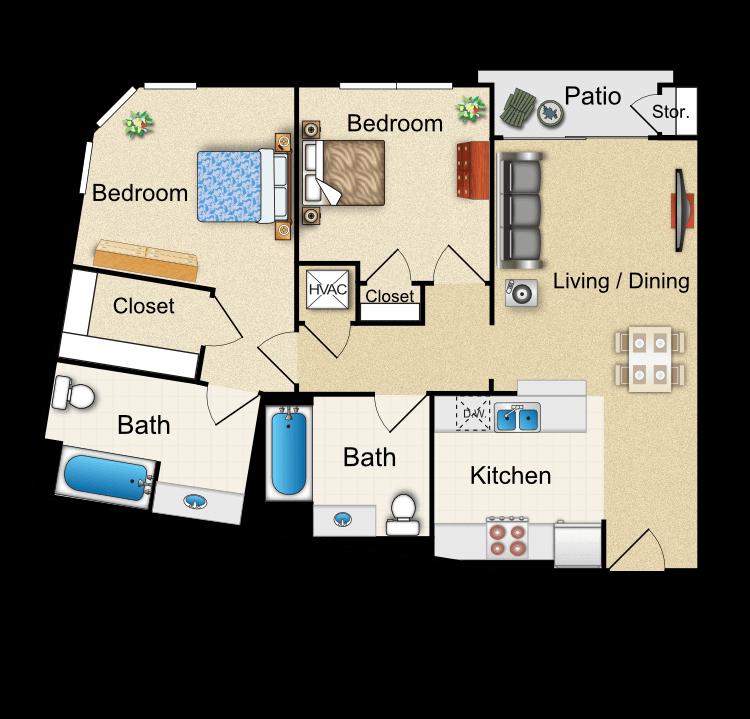 Floor plan image of R