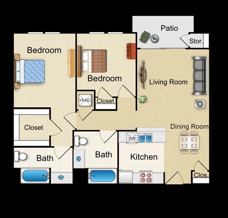 Floor plan image of S