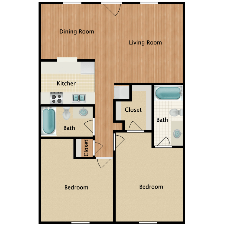 Floor plan image of Flat 3